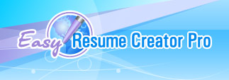 Home Page | Easy Resume Creator Pro